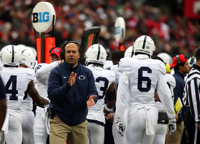 Penn State Falls 39-38 To Ohio State As Same Issues Roar Loudly